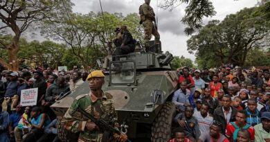 Zim army joins people