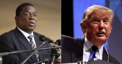 Mnangagwa and Trump sanctions